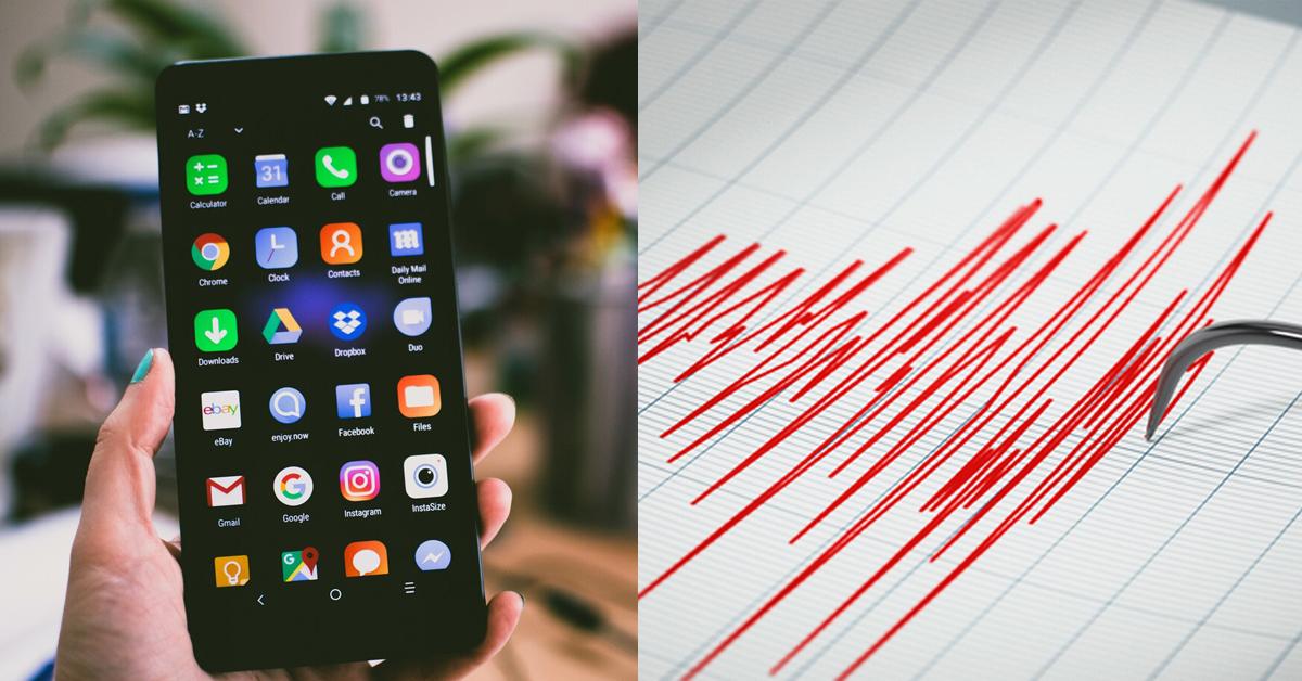 aplicativo que te alerta antes de que ocurra un sismo
