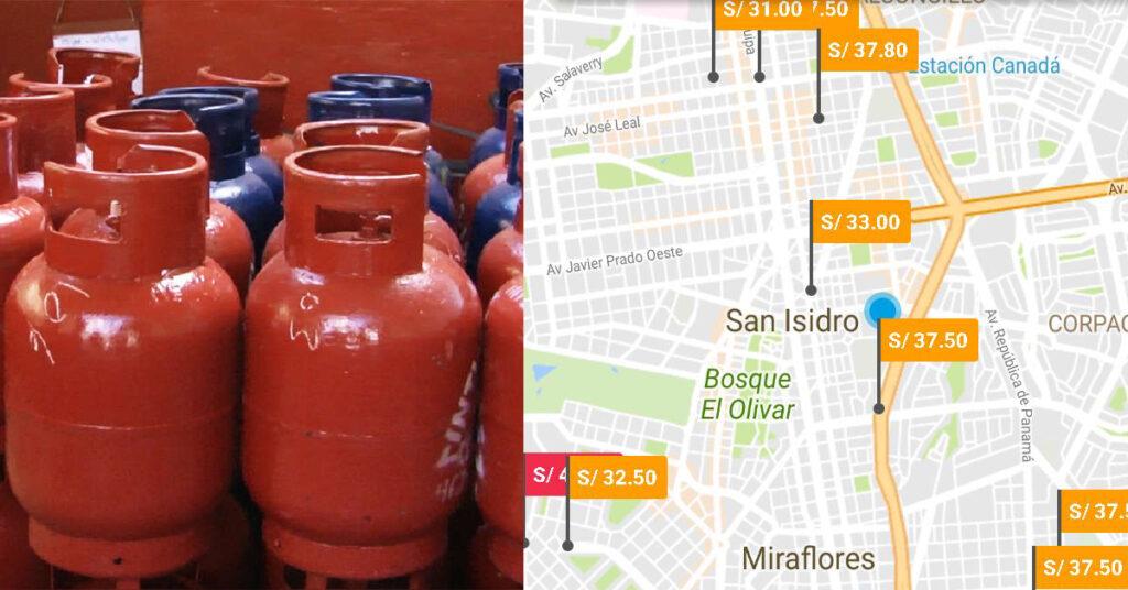 balón de gas más barato