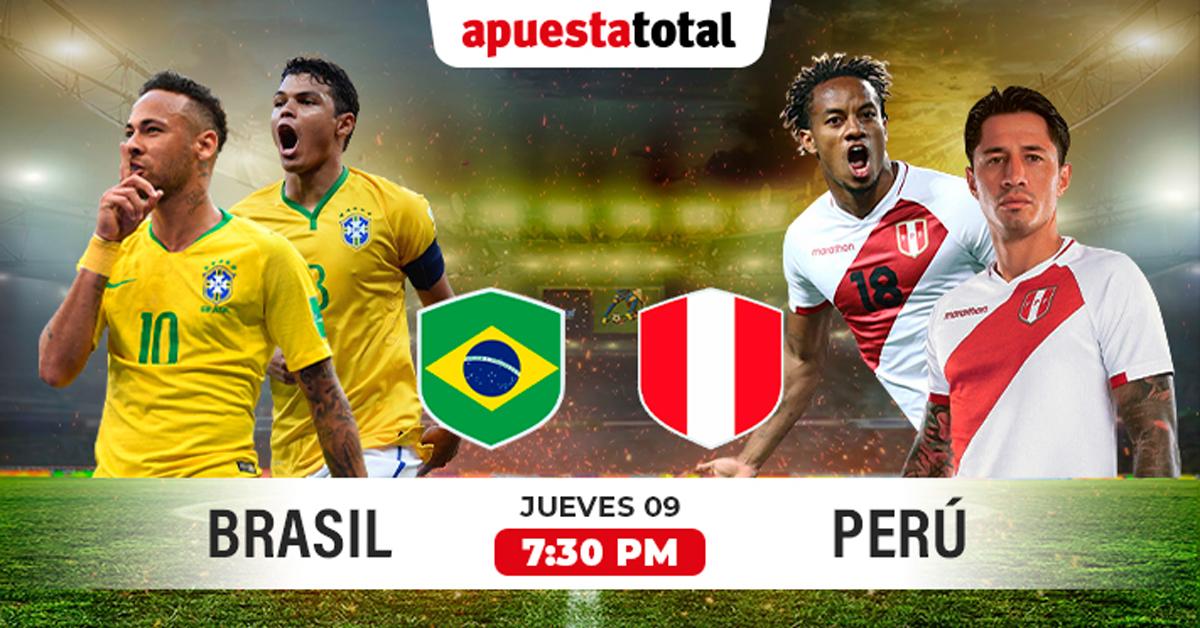 Brasil Vs Perú Apuesta Total