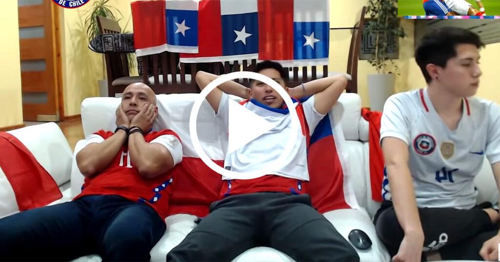 Reacción chilena Perú 2 Chile 0